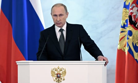Vladimir Putin West Has Tried To Contain Russia For Decades Vladimir Putin The Guardian