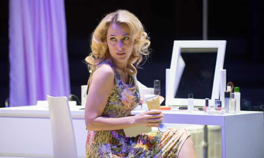 Mandatory Credit: Photo by Jane Hobson/REX (3977768d) Gillian Anderson (Blanche DuBois) 'A Streetcar Named Desire' play performed at the Young Vic Theatre, London, Britain - 25 Jul 2014 A Streetcar Named Desire by Tennessee Williams o