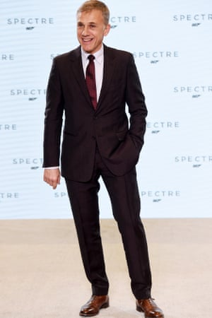 Christoph Waltz at the Spectre photocall.