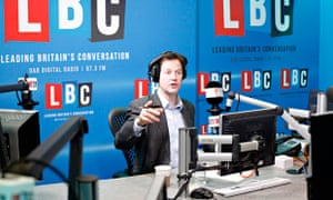 Nick Clegg at his LBC show