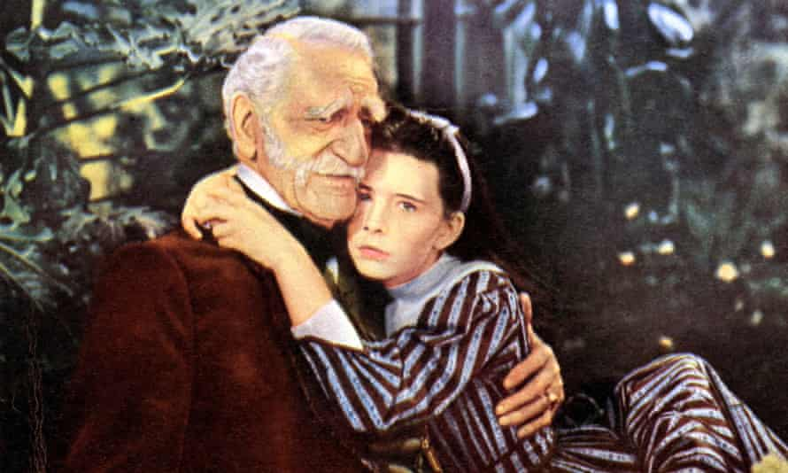 Little comfort ... Margaret O'Brien as Beth and C Aubrey Smith as Grandfather Laurence in the 1949 film of Little Women