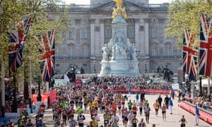 This year's London marathon.