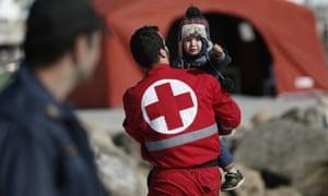 Red Cross child