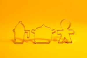 Progiotti Cookie Cutters  Release your inner child, £27