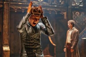 Eddie Redmayne as Richard II