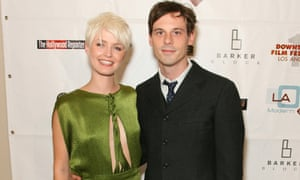 Whitney Able and Scoot McNairy at the 2008 premiere of In Search of a Midnight Kiss.