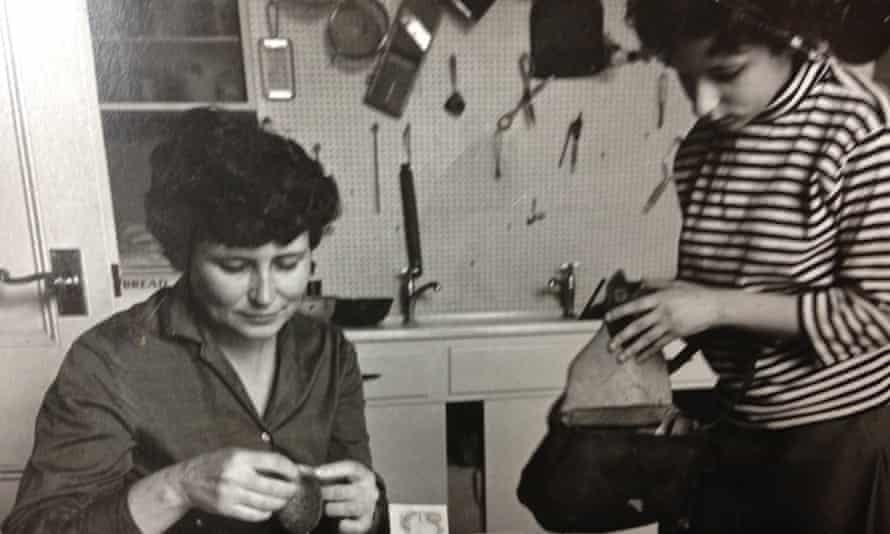 Doris Lessing and Jenny Diski in 1963.