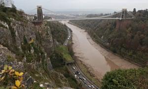 Police search Avon Gorge below Clifton suspension bridge where Charlotte Bevan's body was found