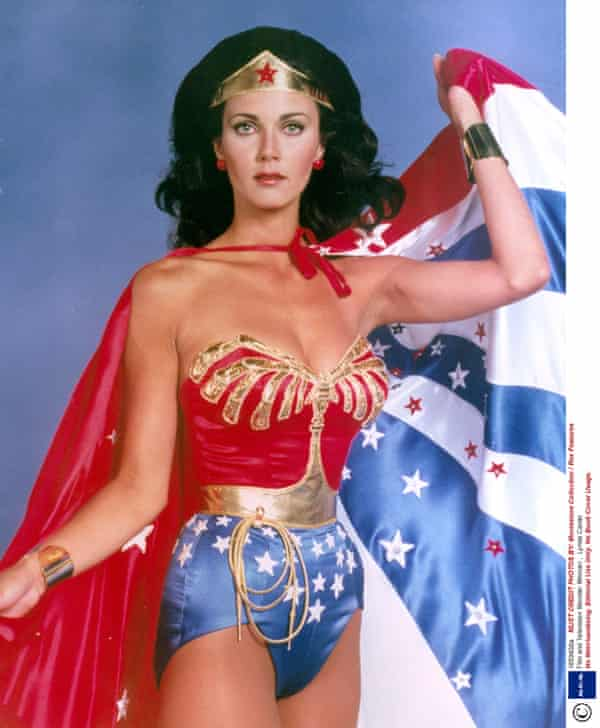Lynda Carter, star of the TV series Wonder Woman from 1975 to 1979.