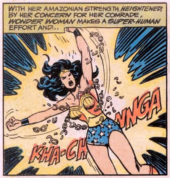 Panel from Wonder Woman comic