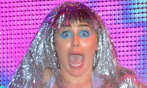 Miley Cyrus wigs out at Art Basel.