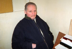 Carlos the Jackal in La Santé prison, 1998.