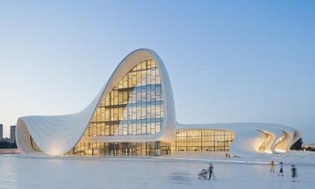 Heydar Aliyev Center, Baku, Azerbaijan, designed by Zaha Hadid and Patrik Schumacher