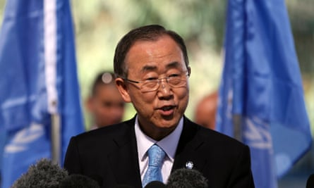 UN secretary-general Ban Ki-moon reaffirms in his report the proposed number of sustainable development goals and targets.