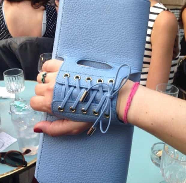 Perrin Paris glove clutch