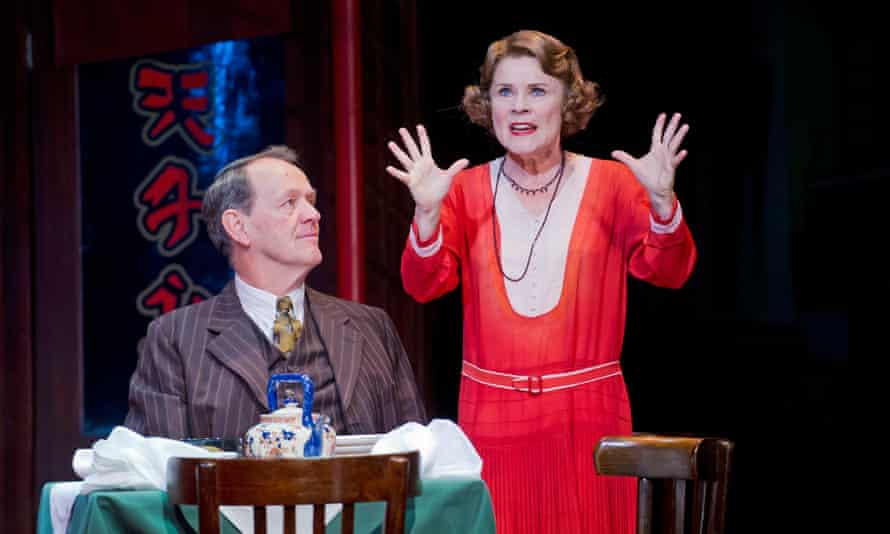 'A female Napoleon': Imelda Staunton with Kevin Whately in Gypsy.
