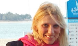 American schoolteacher Ibolya Ryan, who was killed in the stabbing.