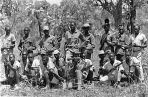 1972 The disparate rebel groups in the south unite to form the Southern Sudan Liberation Movement (SPLM) and negotiate a peace agreement with the Sudanese government in Khartoum. The Addis Ababa agreement gives the south considerable independence and a share of resources, ending the civil war and introducing 10 years of relative peace 8th March 1971:  Guerrillas of the Venom Army fighting the government troops in southern Sudan