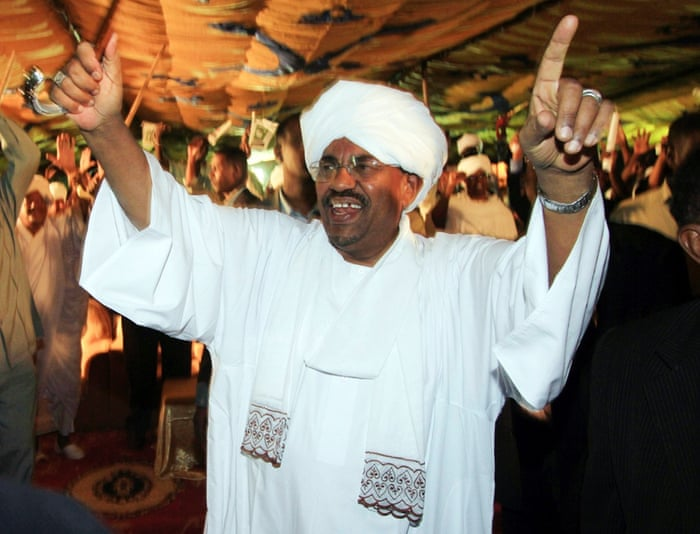 2009 Bashir is accused by the International Criminal Court of directing the Janjaweed militia in a campaign of mass killing, rape, and pillage against non-Arab civilians in Darfur. He is charged with war crimes, becoming the first sitting head of state to be issued with an arrest warrant by Hague
