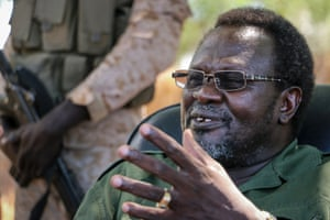 2013 In South Sudan the euphoria over independence does not last. In July Kiir dismisses his vice-president, Riek Machar, and entire cabinet. By December the country is facing a civil war, with rebel forces led by Machar battling Kiir's government troops. South Sudan's rebel leader Riek Machar