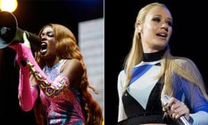 Classic hip-hop beef: Azealia Banks v Iggy Azalea.
