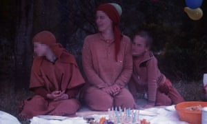 Shishy, centre, was considered second-in-command of the Ashram and had sex with a 14-year-old