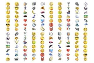 msn messenger emoticons