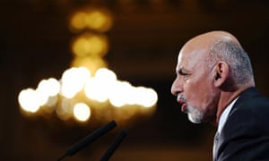Afghanistan's President Ashraf Ghani speaks to delegates and ministers during the Conference on Afghanistan in London December 4, 2014.