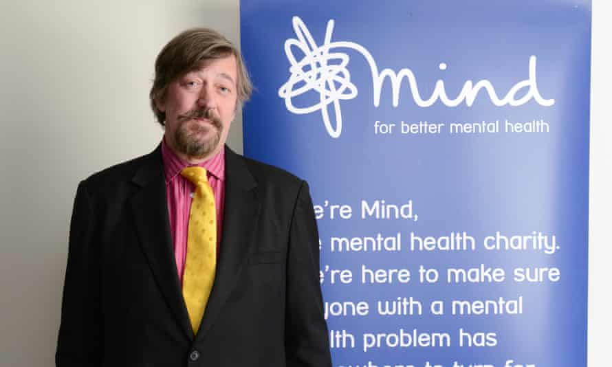 Stephen Fry, President of the charity Mind, is the voice of Ele, the character at the heart of their social network for the mental health community. Mind is one of the charities for this year's Guardian and Observer Christmas appeal.