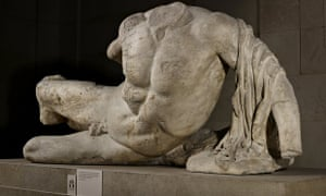 Part of the Elgin Marbles