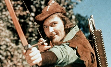 Old favourite … Errol Flynn in The Adventures of Robin Hood (1938).