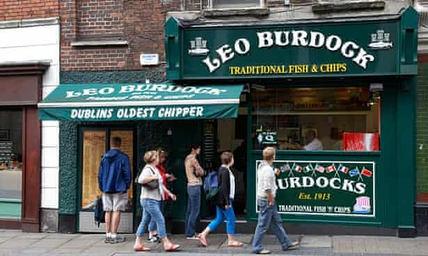 Leo Burdock's chip shop.