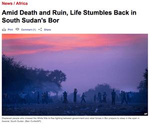 Amid Death and Ruin, Life Stumbles Back in South Sudan's Bor