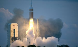 nasa orion space launch