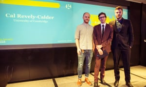 Cal Revely-Calder, winner of Student Critic of the Year