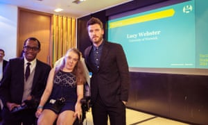 Lucy Webster, winner of Student Columnist of the Year