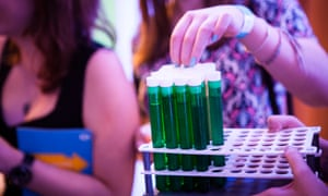 Students celebrated with science cocktails