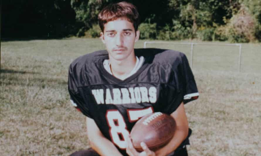 Adnan Syed when he was 16 and playing varsity football.