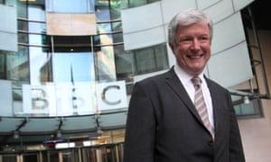 Tony Hall, the BBC's director general.