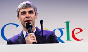 Larry Page, Google's chief executive