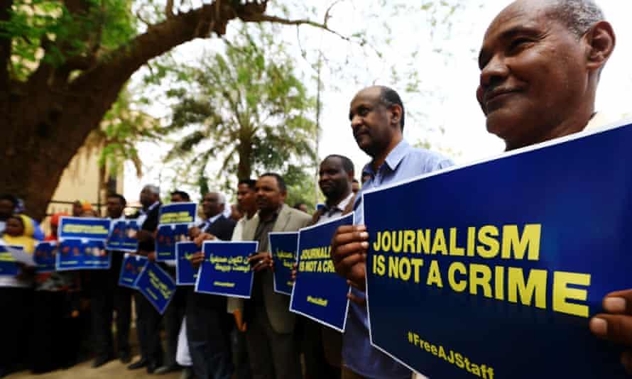 Sudanese journalists