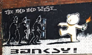 Bristol is known for its subversive politics, which helped spawn the artist Banksy, but police claim