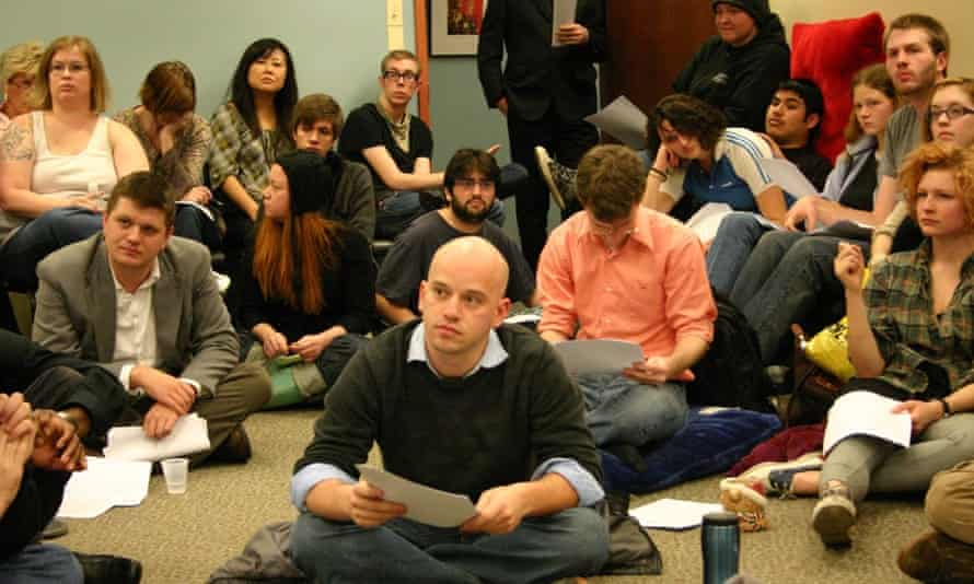 A class at Shimer in 2009