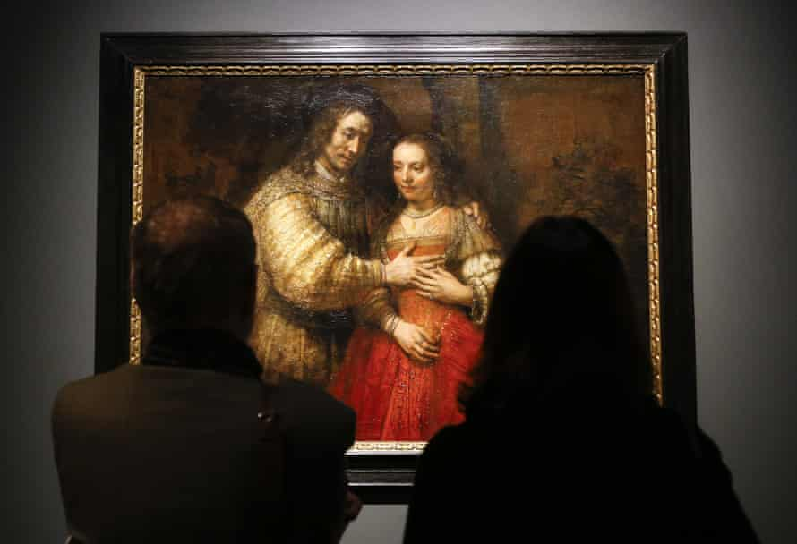 Rembrandt's The Jewish Bride at the National Gallery: 'a profound masterpiece'.