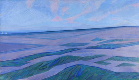 Piet Mondrian's Dune: 'a magical day condensed on a little piece of card'.