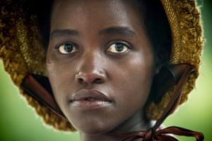 Oscar-winning Lupita Nyong'o in 12 Years a Slave.