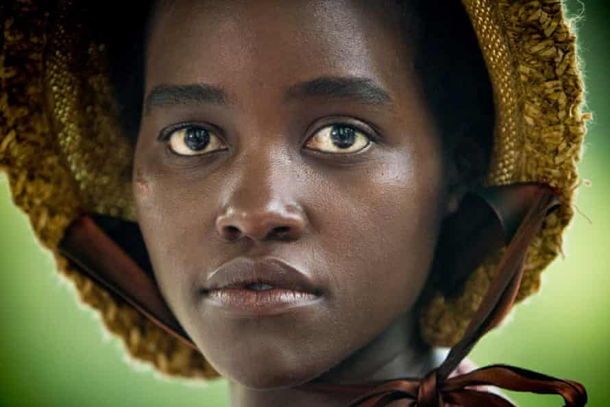 Oscar-winning Lupita Nyong'o in 12 Years a Slave.
