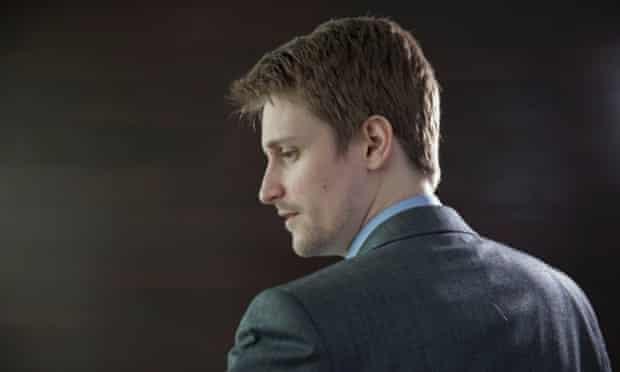 Edward Snowden Photograph: Alex Healey