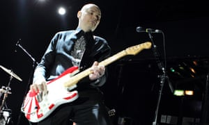 Billy Corgan, of the Smashing Pumpkins, in London in December 2014