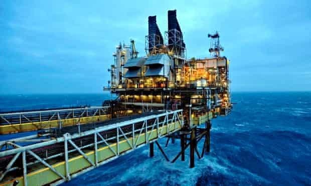 BP oil platform